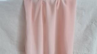 Mousseline coloris rose poudré
