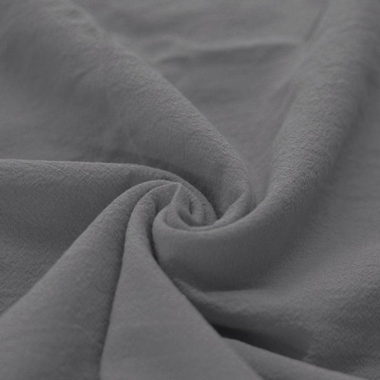 A VENIR PROCHAINEMENT Nappe grise en coton lavé